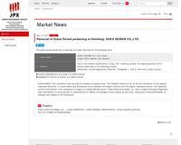 Keyword Search | Japan Exchange Group